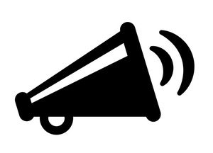 Broadcasting Megaphone Icon