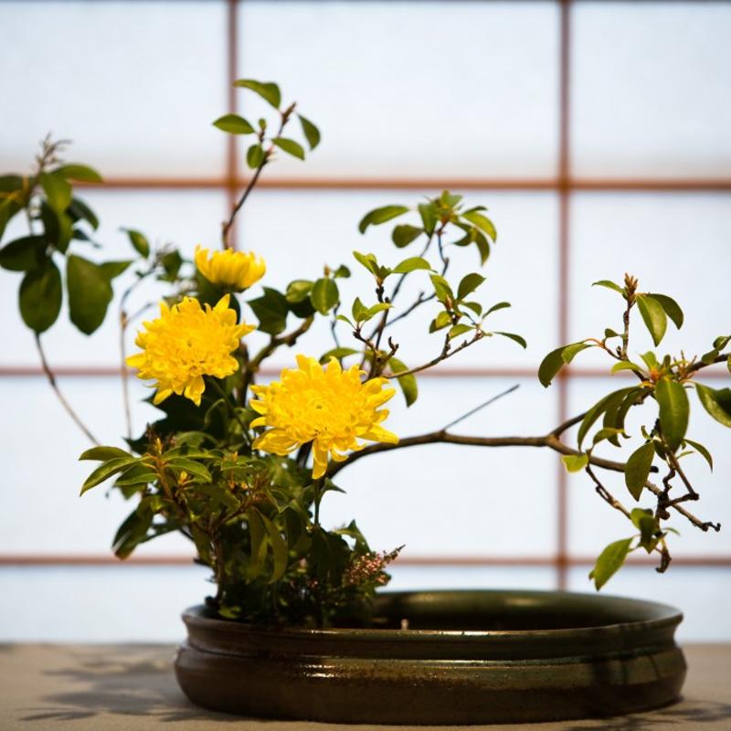 Ikebana Workshop - Japanese Flower Arrangement