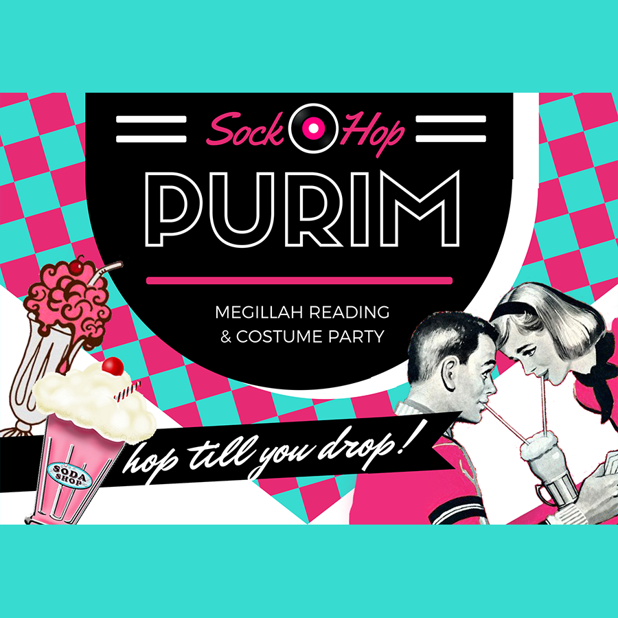 50's Purim Party and Dinner