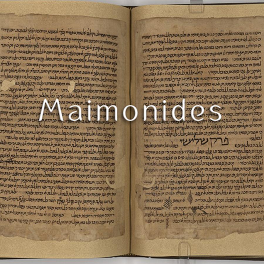 Rabbi Staitman on Maimonides