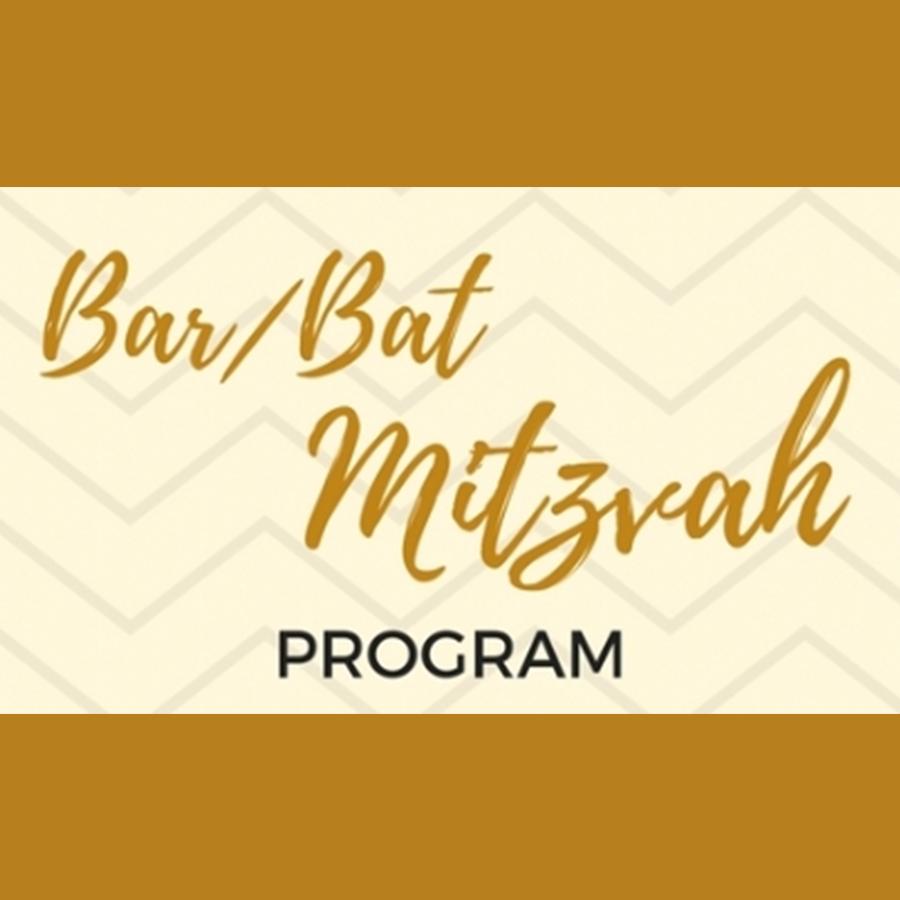 Adult Bar/Bat Mitzvah Program