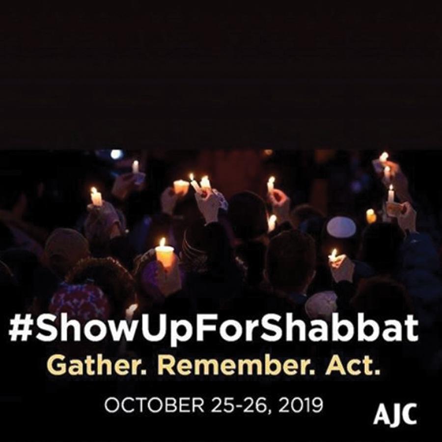 #ShowUpForShabbat